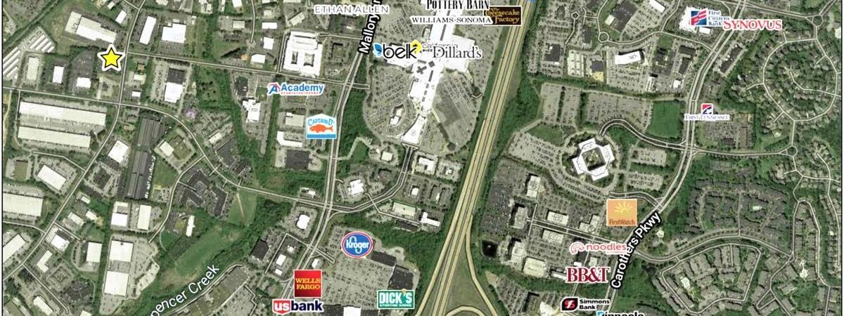 201 Seaboard Lane Market Aerial